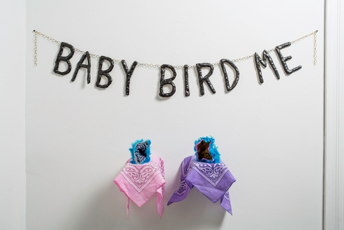 Baby Bird Me, 2017 Photo: Karen Philippi