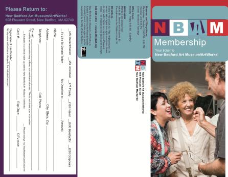 Membership Tri-fold